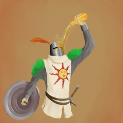 Solaire by Thedummyplayer