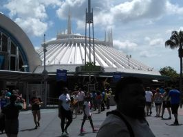 Entrance to Space Mountain by Prentis-65