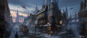 C.O.T: Quiet Town by wang2dog