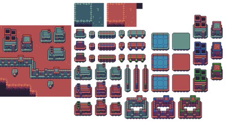 Space colony sim assets by buch415