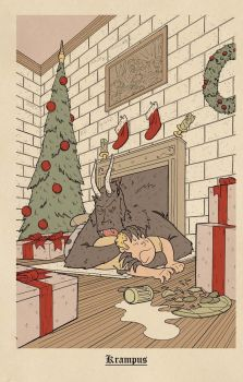 Arsenic Lullaby Krampus by ArsenicLullaby1