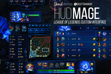 Mage HUD League of Legends by LeftLucy