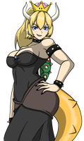 Bowsette by ginyu1992