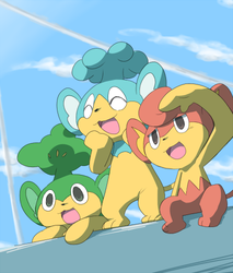 monkeys by marshtompkd
