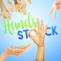 Hands stocks pack by Monstuffs