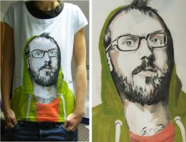 Bobsmade_Tee-DallasGreen by Bobsmade