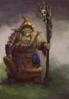 Orc Mage by Windmaker