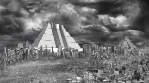 Pyramid Concept Photo-Montage by Benjamin-the-Fox