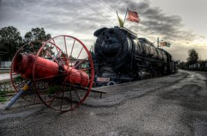 old train HDR by Piddling