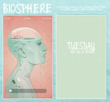 Biosphere Minimal - Custom Android by twiggette