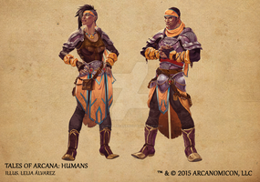 Tales of Arcana 1st Set - Humans by TalesofArcanaRPG