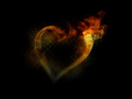Burning love by Sabski