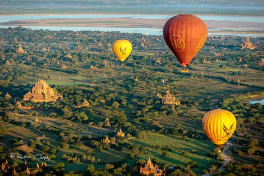 .:Balloons Over Bagan II:. by RHCheng