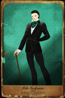 Loki in 19th century Midgard clothes by Leonah728