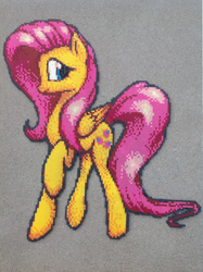 {Perler} Fluttershy is a Natural Beauty by OddishCrafts
