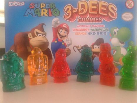 Nintendo Gummies by 3Bitner3