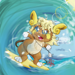 Surfin Usa by Sphynia-cat