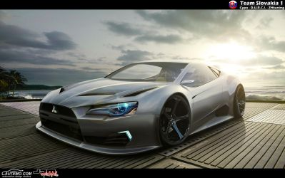 Mitsubishi rEvolution by CypoDesign