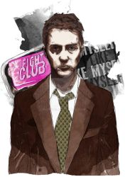 Fight Club Artwork by madows