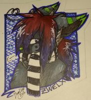 Zwelxia Art Badge by Zwelx