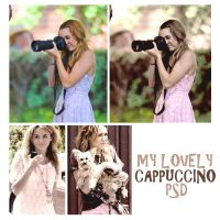 lovely cappuccino psd by memoriesinsecret
