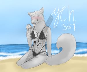 Summer time! YCH by Veitoon