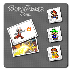 SuperMario Mail icons by yam32