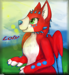 AT Loly: furry by KotElen