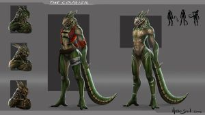 Concept Thecourier by Hitsu