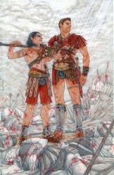 Nagron - Spartacus fanart by cimmerianwillow