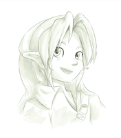 Day8: Young Link by Lady-of-Link