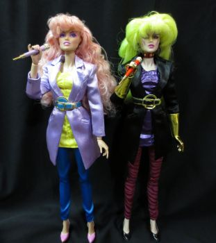 In Stitches Jem and Pizzazz by scootersdelight