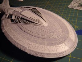 masking tape madness painted 1 by trekmodeler