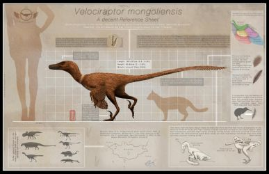 Velociraptor by ChrisMasna