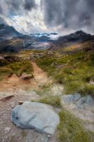 A path to the glaciers by ludovicjamet