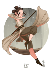 Star wars: Rey by lana-jay