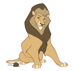Lion by faithandfreedom