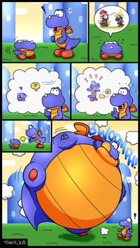 Balloon Solution by TheGuyNoOneRemembers