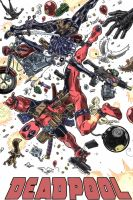DeadPool Party Time by JoshRuud