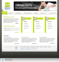 Forward Digital Website by octav-chelaru