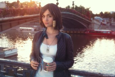 Casual Pharah (Cosplay) by Akaomy