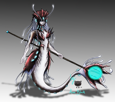[Skin] Deep Sea Nami Concept Art by KwnBlack
