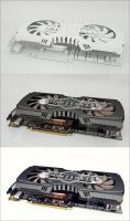 graphic card by M-Pixel