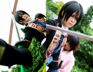 Hakuoki - i will protect you by rinabyakuran