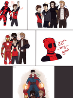 Meet the dads, Wade by ToastyPastelPrince