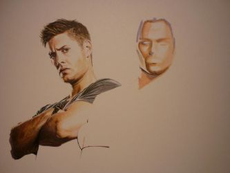 new Supernatural drawing wip by DavidDeb