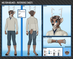 Milton Holmes - Character Reference Sheet by Miltonholmes