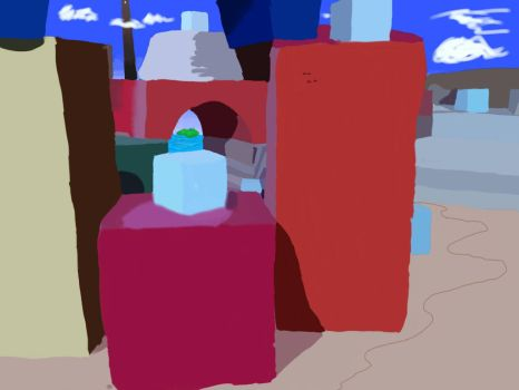redraw #1 Monoliths by bartron2000