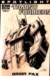 Prime Sketch Cover by LivioRamondelli