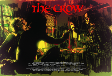 THE CROW by MRoblin